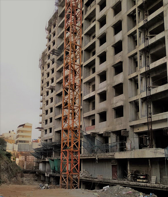 Flat Under Construction